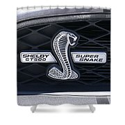 Shelby Gt 500 Super Snake Shower Curtain