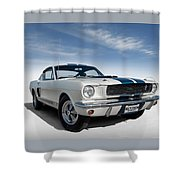 Shelby Mustang Gt350 Shower Curtain