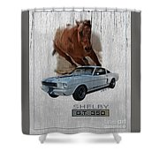 Shelby Gt350 Shower Curtain