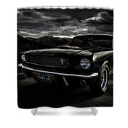 Shelby Gt350h Rent-a-racer Shower Curtain