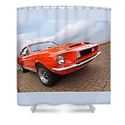 Shelby Gt500kr 1968 Shower Curtain