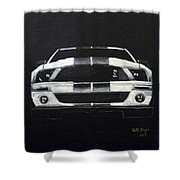 Shelby Mustang Front Shower Curtain