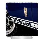 Shelby Mustang G T 350 Cobra Shower Curtain