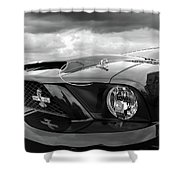 Shelby Super Snake Mustang Grille And Headlight Shower Curtain