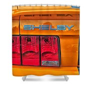 Shelby Tail Light Shower Curtain
