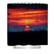 Shelby's Sunset Shower Curtain