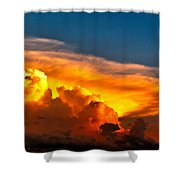 Shelf Cloud 01 Shower Curtain