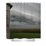 Shelf Cloud 16 Shower Curtain