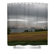 Shelf Cloud 6 Shower Curtain
