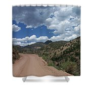 Shelf Road  Shower Curtain