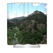 Shelf Road Vista Shower Curtain