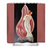 Shell Angel Shower Curtain