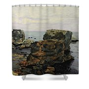 Shell Beach  Shower Curtain