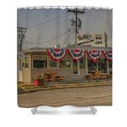 Shellys Route 66 Cafe Cuba Mo Dsc05554 Shower Curtain