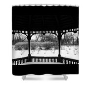 Shelter From The Storm       Landscape     Indiana Shower Curtain