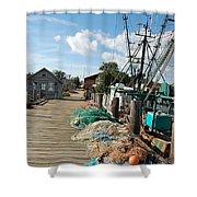 Shelter Island Shower Curtain