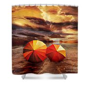 Shelter Shower Curtain by Jacky Gerritsen