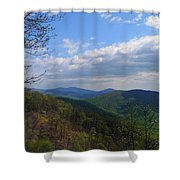 Shenandoah Skies Shower Curtain