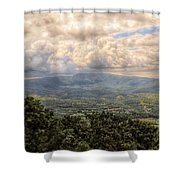 Shenandoah Valley - Storm Rolling In Shower Curtain