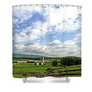 Shenandoah Valley West Virginia Scenic Series Shower Curtain