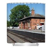 Shenton Station Shower Curtain
