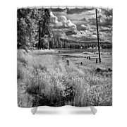 Shepard Lake Shower Curtain