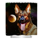 Shepards Moon Shower Curtain