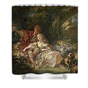 Shepherd And Shepherdess Shower Curtain