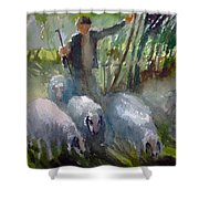 Shepherd... Shower Curtain
