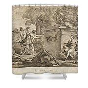 Shepherds In Arcadia Shower Curtain