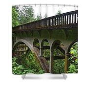 Shepperds Dell Bridge Shower Curtain