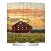 Sherfy Barn Shower Curtain