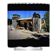 Sheriff Office - Old Tucson Shower Curtain