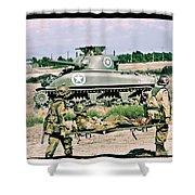 Sherman Advance Shower Curtain