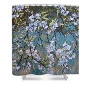 Sherry Flower 1 Shower Curtain