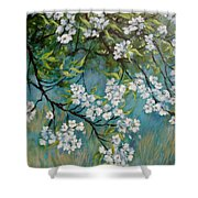 Sherry Flowers 2 Shower Curtain