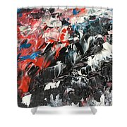 She's All Eyes And Tempest Shower Curtain