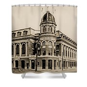 Shibe Park 1913 In Sepia Shower Curtain