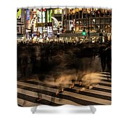 Shibuya Scramble Shower Curtain