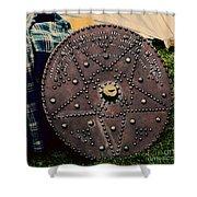 Shield Of Faith Shower Curtain