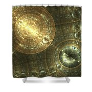 Shielded Shower Curtain