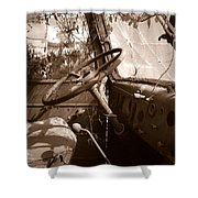 Shifting Gears...pennsylvania Ave. Wilkes Barre Pa. Shower Curtain