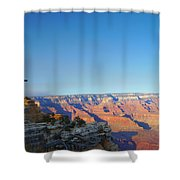Shifting Perspectives Shower Curtain
