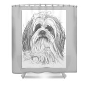 Shih-poo Shower Curtain