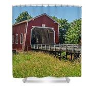 Shimanek Covered Bridge No. 2 Shower Curtain