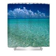 Shimmering Ocean Shower Curtain