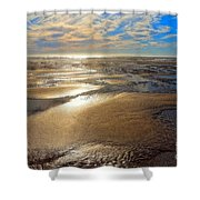 Shimmering Sands Shower Curtain