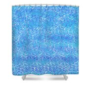Shimmering Water Shower Curtain