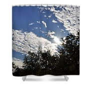 Shine And Smile Shower Curtain