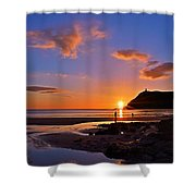 Shine On Shower Curtain